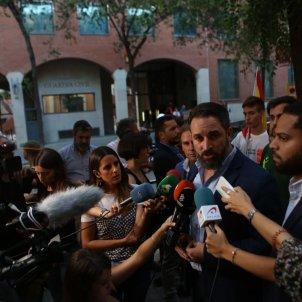 ELNACIONAL Santiago Abascal Ignacio Garriga declracions Barcelona - Sira Esclasans