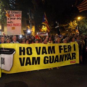 Manifestació aniversari 1-O Barcelona - Sergi Alcàzar