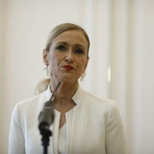 Cristina Cifuentes dimissió Europa Press