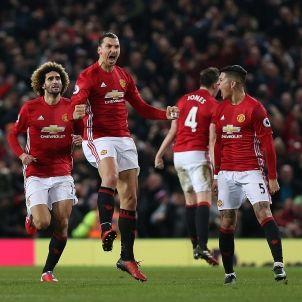 Ibrahimovic Manchester United Liverpool EFE