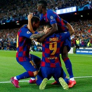 Suarez Messi Dembele gol Barca Inter EFE