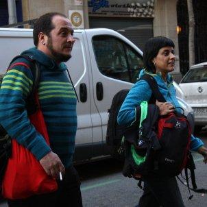Anna Gabriel i David Fernández ACN