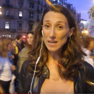 Euronews manifestació 1-O