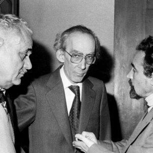 josep benet Josep Subirats Antoni Gutiérrez - Efe