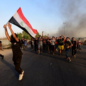 bagdad irak iraq protestes efe