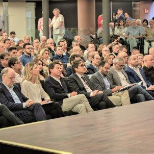 Acto de Societat Civil Catalana Josep Bou Cayetana Álvarez de Toledo Manuel Valls  David Pérez Carrizosa - Europa Press