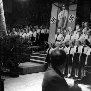 Palau de la Música. Barcelona (1940). Foto Pérez de Rozas. Font Arxiu Nacional de Catalunya