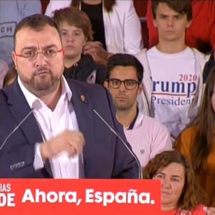 PSOE míting President Trump @PSOE