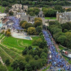 manifestacio escocia edimburg independència @AUOBALBA