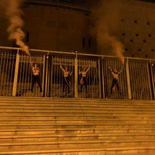 activistes femen vistalegre - @FemenSpain