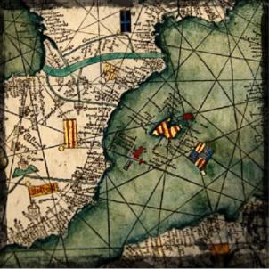 Menorca. Part de l'Atles català. 1375