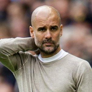 Pep Guardiola Manchester City Wolves derrota EFE