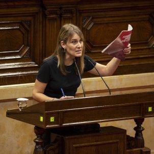 Jèssica Albiach Comuns Moció de Censura Parlament - Sergi Alcàzar
