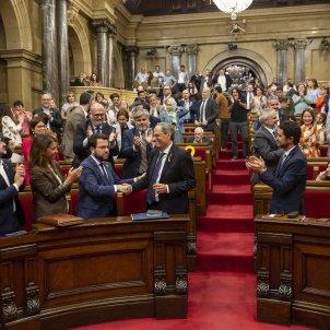 Mocio de Censura Parlament Aplaudiments Torra - Sergi Alcàzar