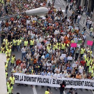 manifestacio mossos 2007 / efe