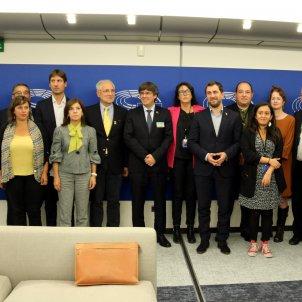 Plataforma dialeg Catalunya UE Puigdemont Comin riba - ACN