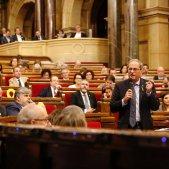 EN Quim Torra hemicile Parlament sessió control - Sergi Alcàzar