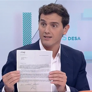 Albert Rivera TVE Desayunos Carta