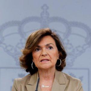 Carmen Calvo Consell de Ministres EFE
