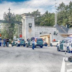Vehículos de la Guardia Civil Valle de los Caídos -  Ricardo Rubio / Europa Press