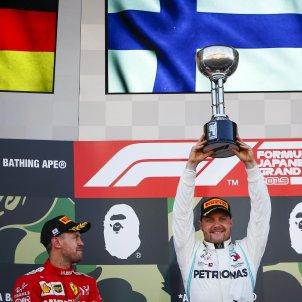 Bottas Vettel GP Japo Formula 1 EFE
