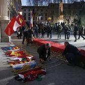 banderes caigudes conferencia presidents efe