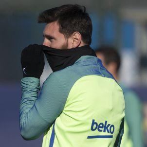 Messi Barça entrenament FCB
