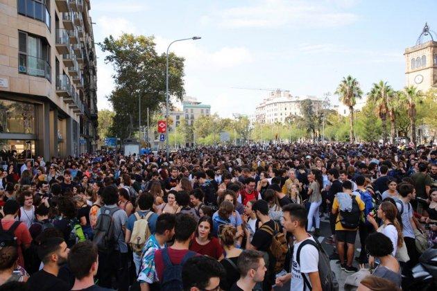 Plaça universitat barcelone