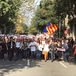 manifestació òmnium sentència 14 O Guillem Ramos