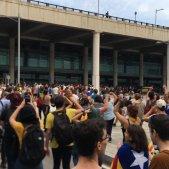 manifestants aeroport sentència 14 O EN