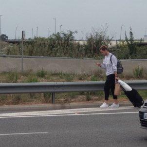Ivan Rakitic aeroport barcelona el prat @prec96