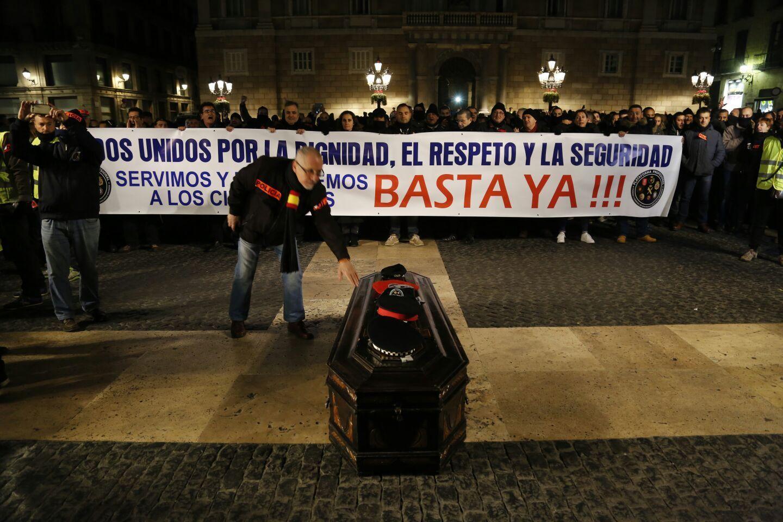 Manifestació policies - Sergi Alcàzar