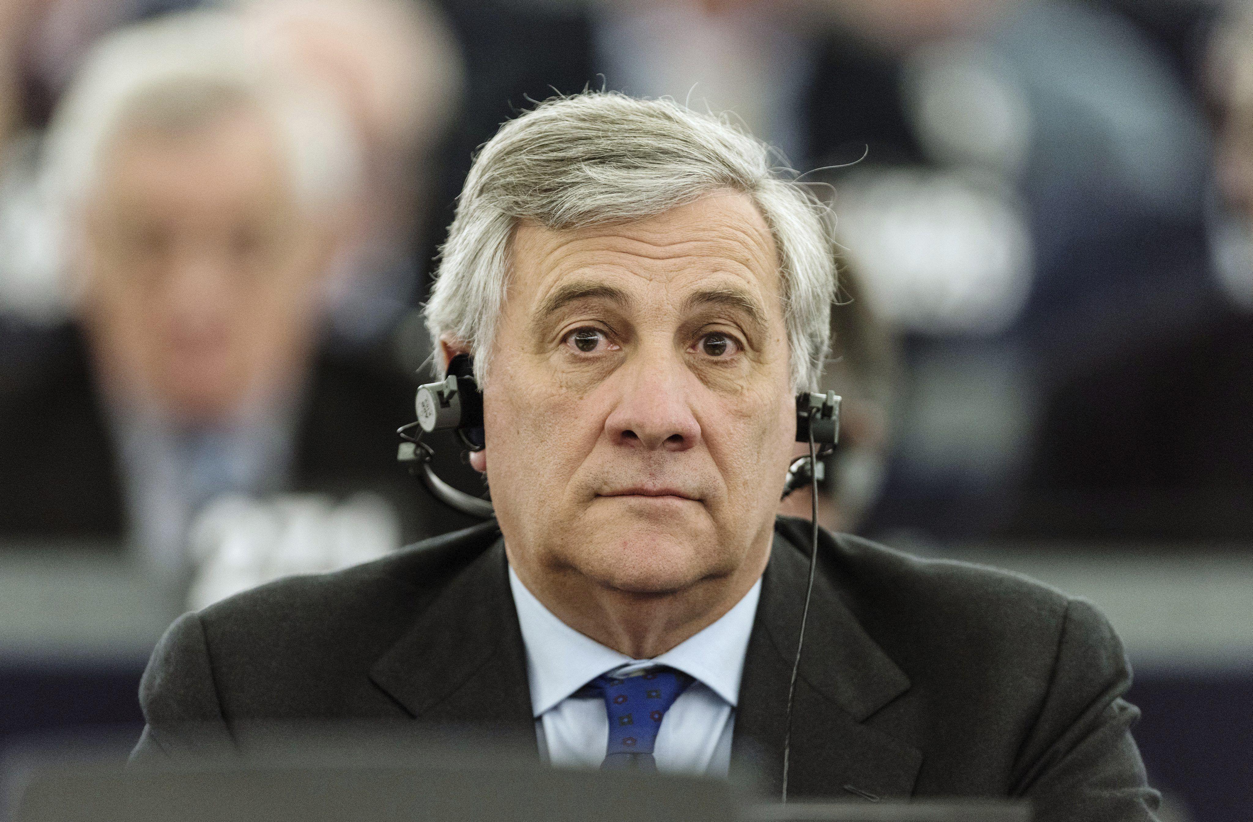 Antonio Tajani Parlament Europeu - EFE