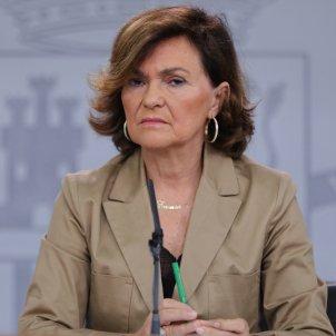 Carmen Calvo govern espanyol Europa Press