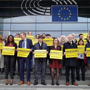 Protesta Comissió Europea sentència
