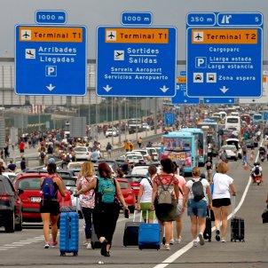 viatgers aeoport Prat tsunami democratic sentencia EFE