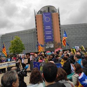 Protesta Brussel·les llibertat presos