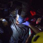 ferit bala de goma Manifestacio sentencia aeroport del prat Sergi Alcàzar 01