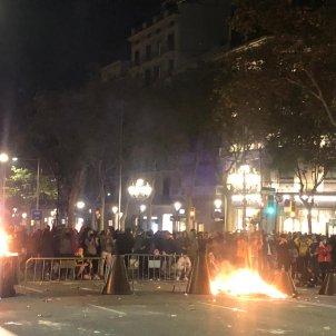 Crema de barricades passeig de gracia sentencia proces - Marina Fernàndez