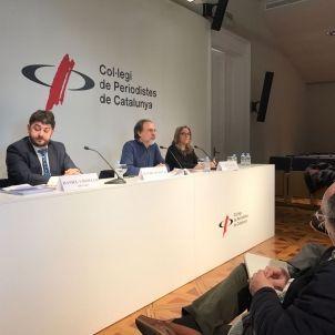 Roda premsa Intervida / Liñán