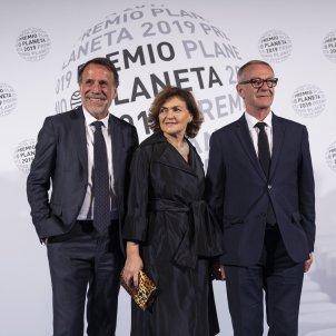 Jose Guirao Carmen Calvo Jose Creuheras Premi Planeta 2019 - Sergi Alcàzar