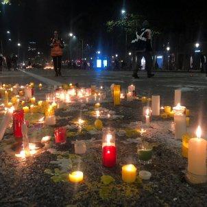 espelmes aldarulls barcelona - marina fernandez