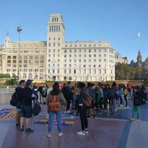 estudiants plaça catalunya el nacional anna solé sans