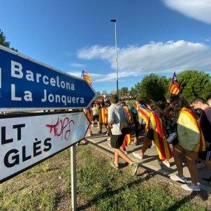 Marxa per la Llibertat Girona - AP7 - Marc Ortín