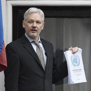 julian assange wikileaks efe