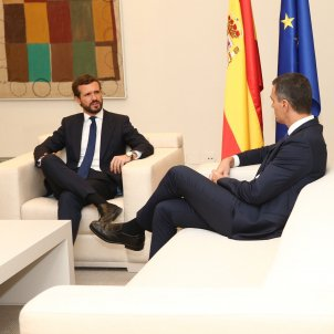 Pedro Sánchez Pablo Casado EFE