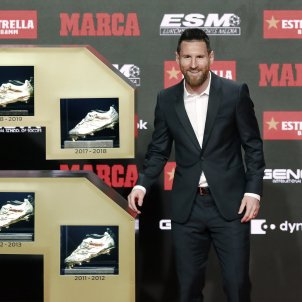 Messi Bota d'Or EFE