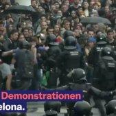 Neue Zürcher manifestació Barcelona