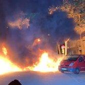 ELNACIONAL manifestacio cdr interior foc aldarulls - sergi alcazar