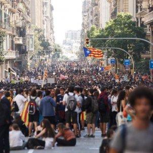 manifestacio estudiants sentencia sergi alcazar